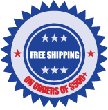 Free Shipping on Orders of $500+